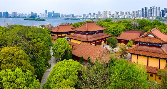 Temple complex of Wanshou Palace in Nanchang City, Jiangxi Province, China