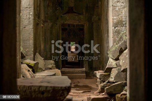 an ominous ancient passageway