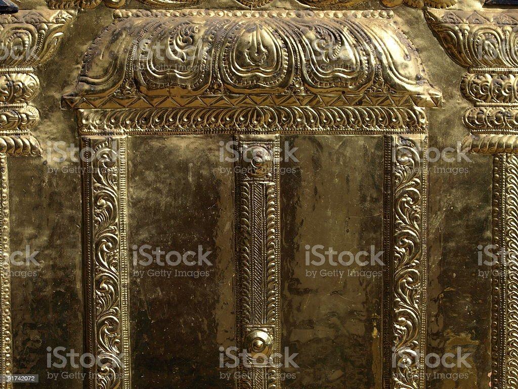 Temple decoration,Varkala,Kerala,India. stock photo