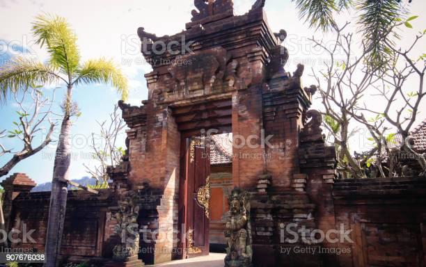 Temple Door In Bali Stock Photo Download Image Now Istock