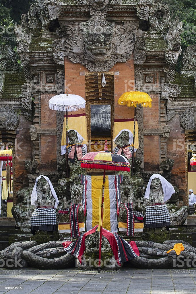 Temple in Bali royalty-free stock photo