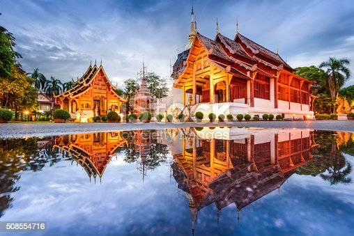istock Temple in Chiang Mai 508554716