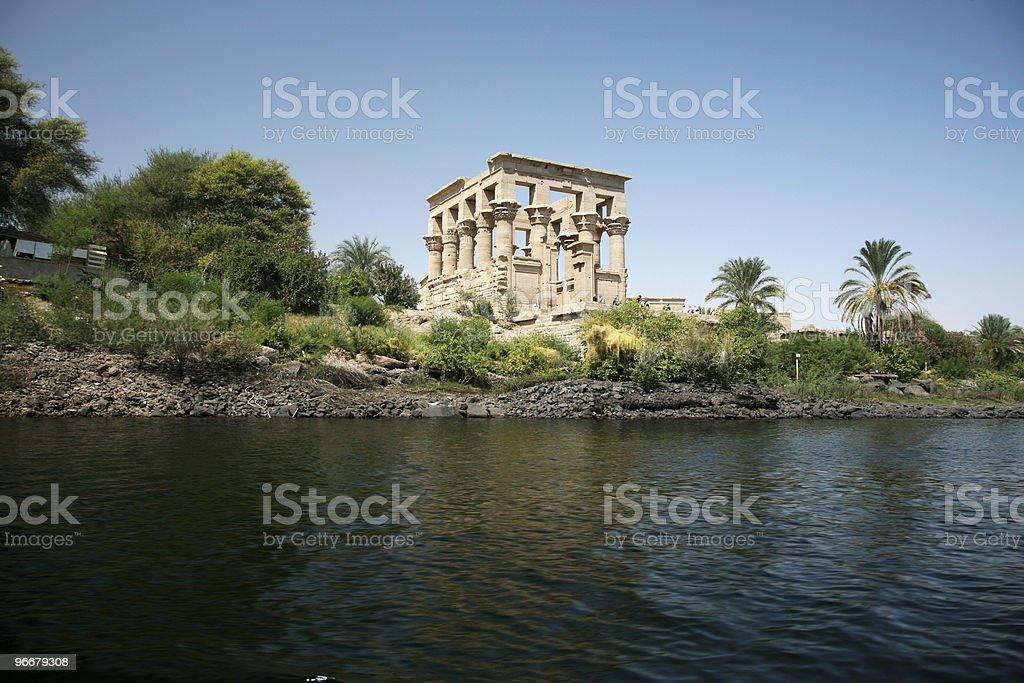 Tempel in edfu - Lizenzfrei Afrika Stock-Foto