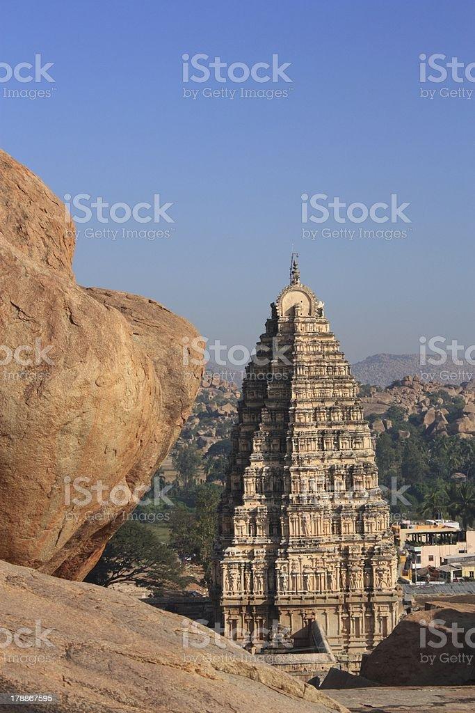 Temple in Hampi royalty-free stock photo