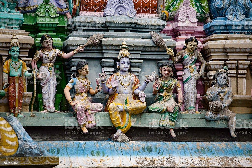 Temple in Kanchipuram stock photo