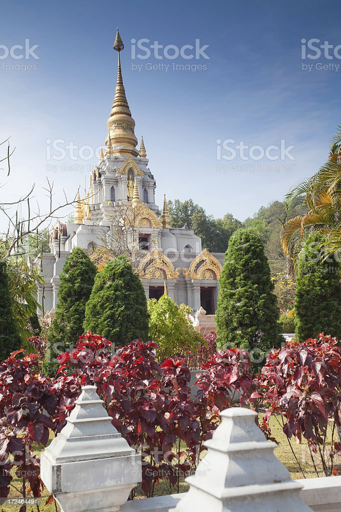 Temple in Thailand royalty-free stock photo