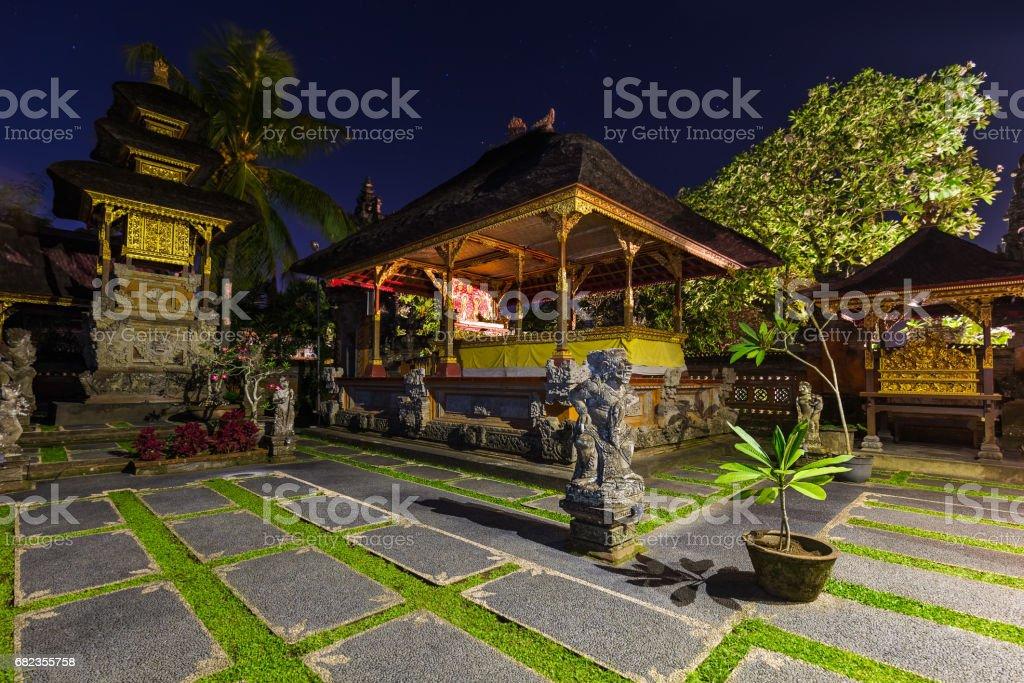 Temple in Ubud - Bali Island Indonesia zbiór zdjęć royalty-free