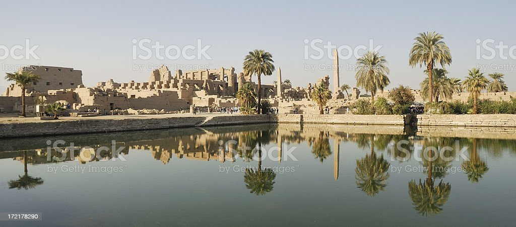 Temple Karnak 01 royalty-free stock photo
