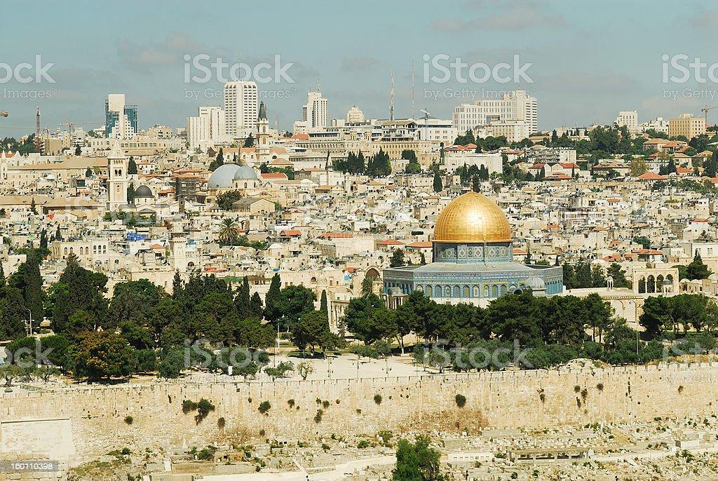 Temple Mount,Jerusalem,Israel royalty-free stock photo