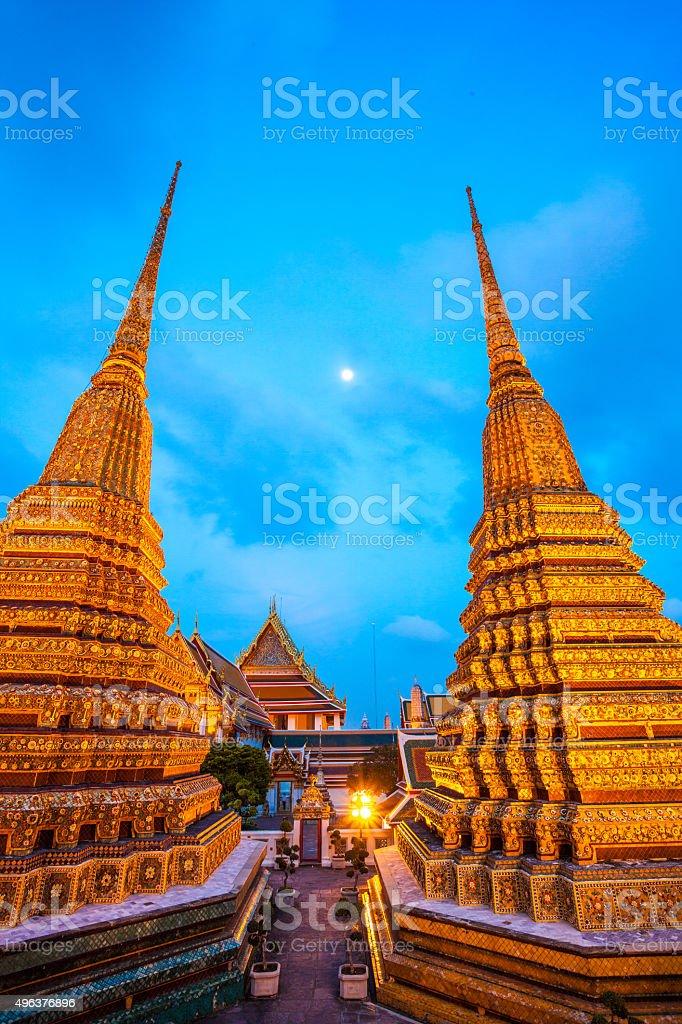 Temple near Wat Arun, Bangkok, Thailand stock photo