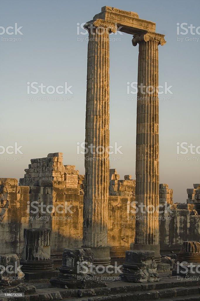 Temple Of Apollo In Didyma stock photo