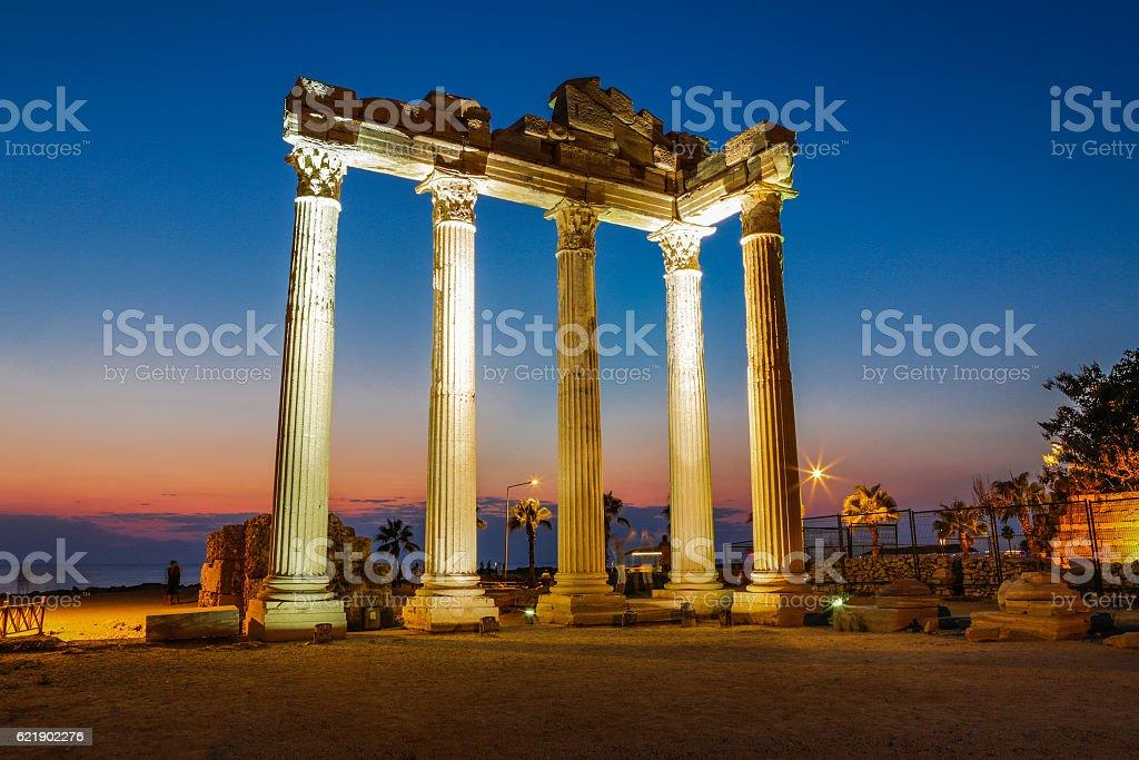 Temple of Apollo. - Photo