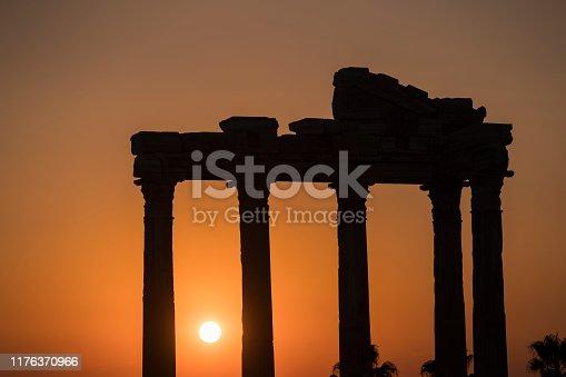 Temple of Apollo, Side Antalya