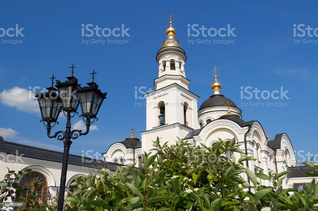 Temple of Archangel Michael stock photo