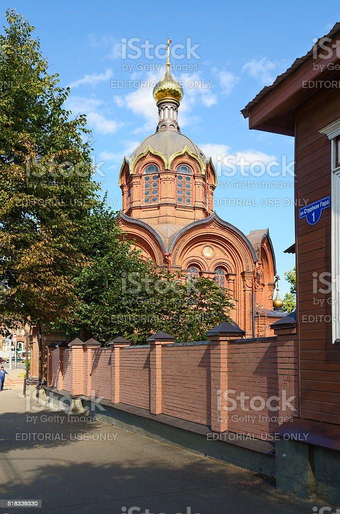 Tempel der Erzengel Michael, Wladimir, Russland – Foto