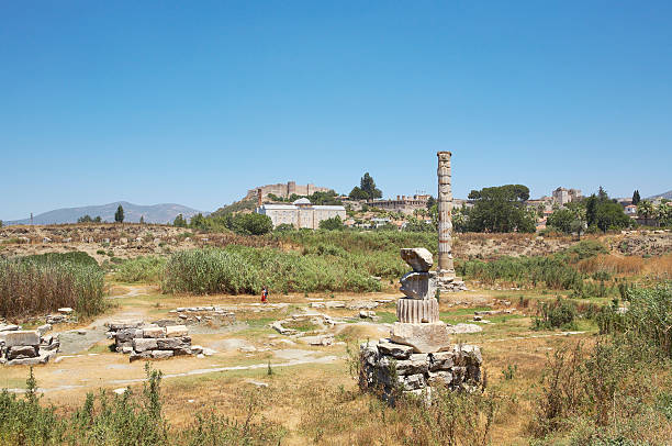 Temple of Artemis  ephesus stock pictures, royalty-free photos & images