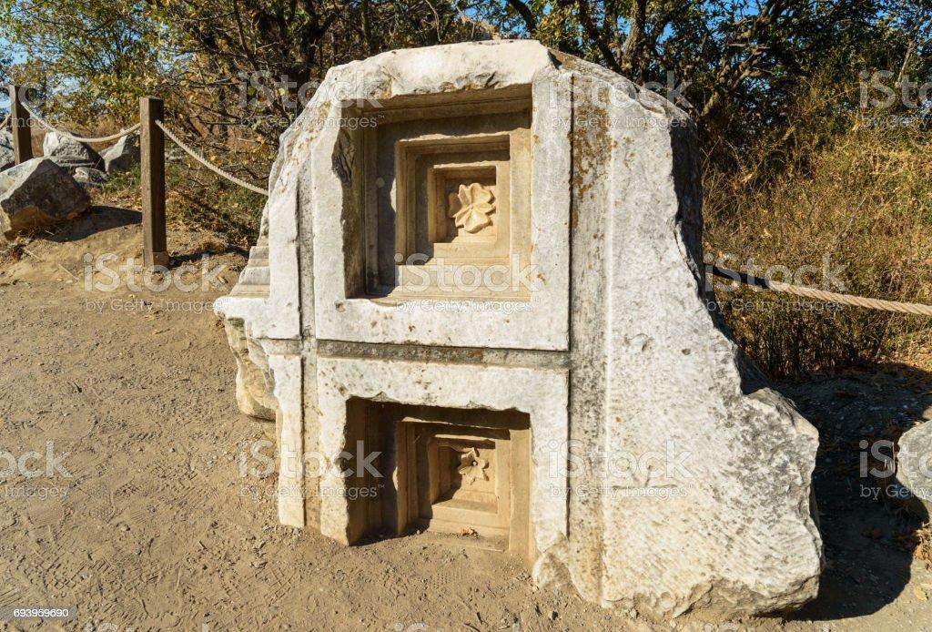 Tempel der Athena in antiken Stadt Troja. Turkei – Foto