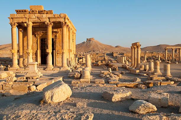 Antike Ruinen in Syrien Palmyra – Foto