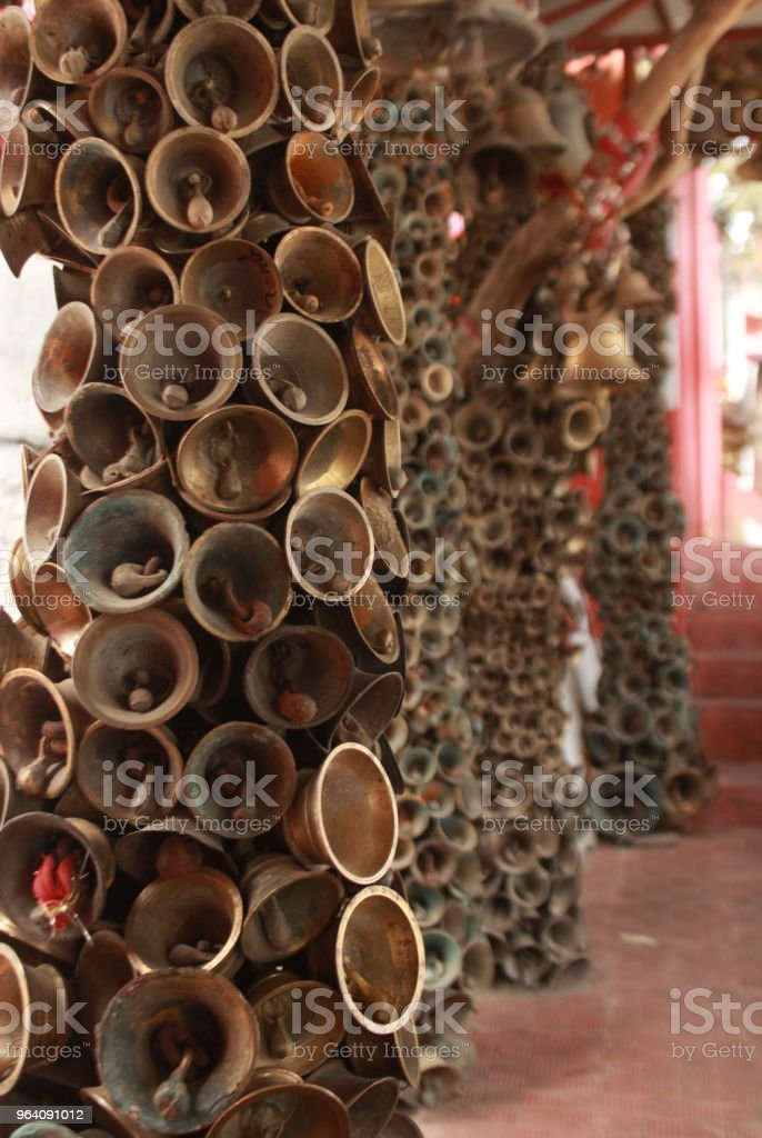 Temple of Bells in India - Royalty-free Ancient Stock Photo