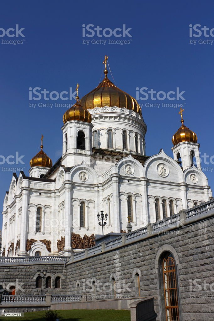 Temple of Christ the Savior royalty-free stock photo