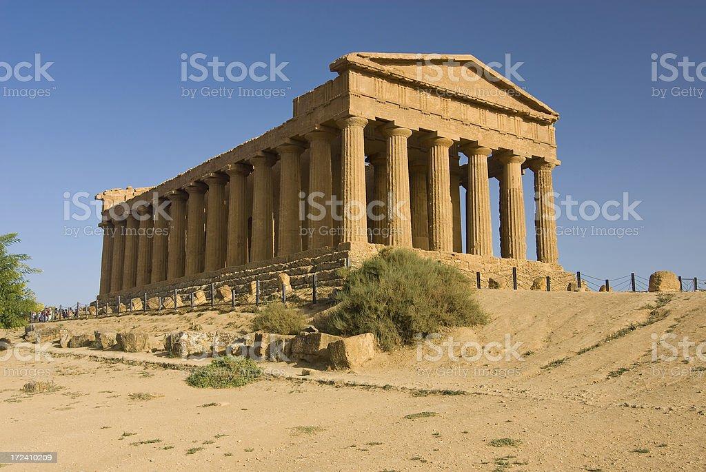 Tempio della Concordia - foto stock