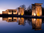 istock Temple of Debod at sunset 157418644