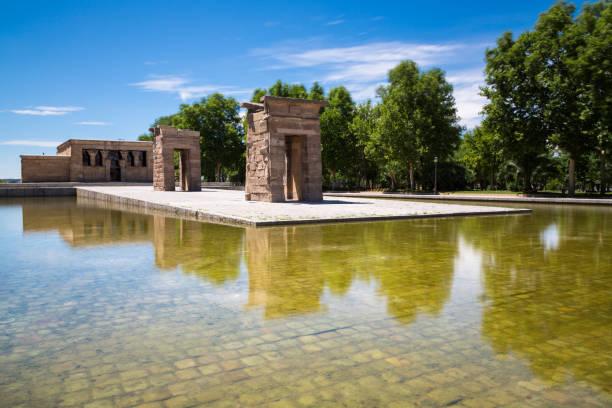 Temple of Debod, Madrid, Spain - UNESCO - foto stock