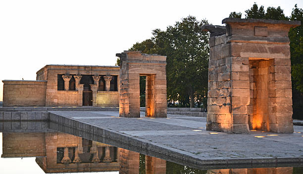 Temple Of Debod Temple Of Debod, Madrid, Spain 4th century bc stock pictures, royalty-free photos & images