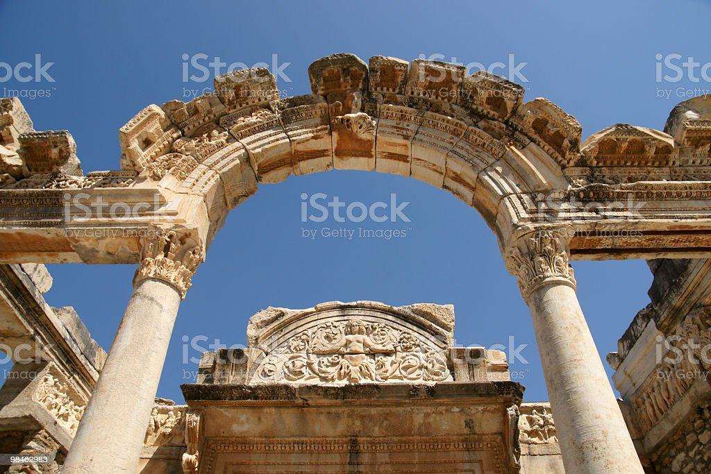 Tempio di Adriano foto stock royalty-free