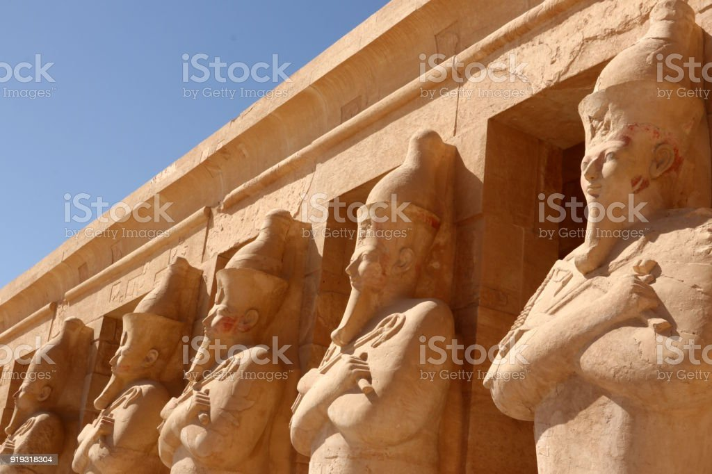 Temple of Hatshepsut, Luxor - Thebes, Egypt stock photo