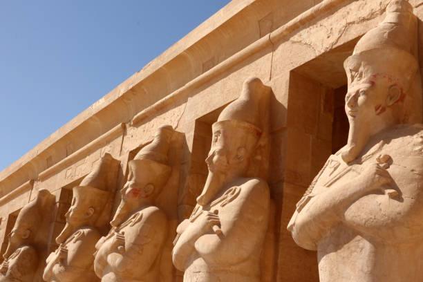 Temple of Hatshepsut, Luxor - Thebes, Egypt stock photo