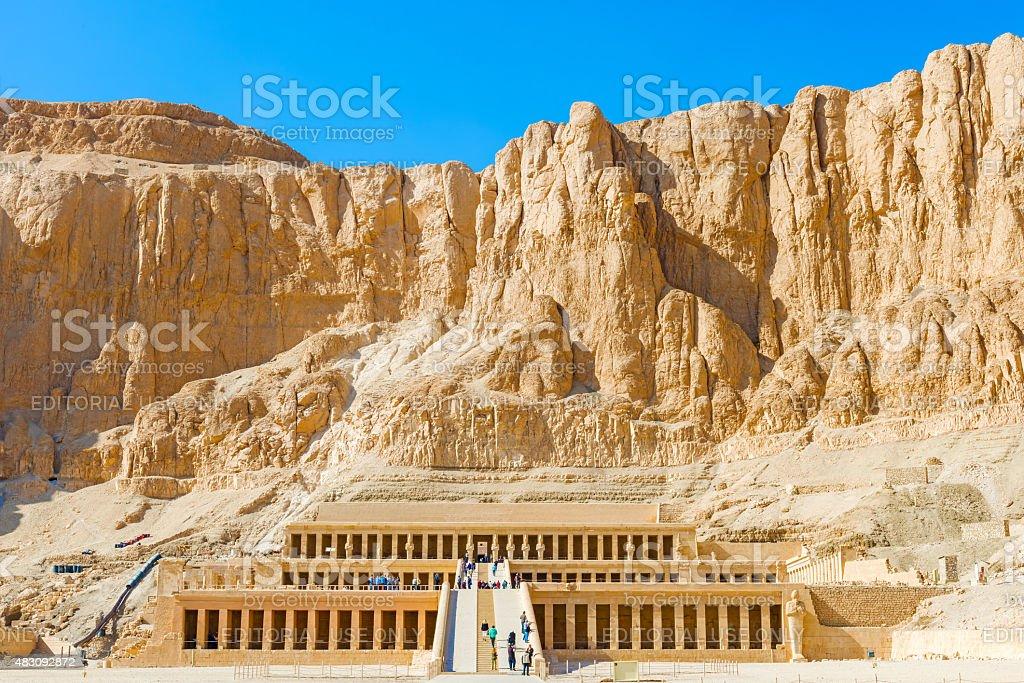 Temple of Hatshepsut stock photo