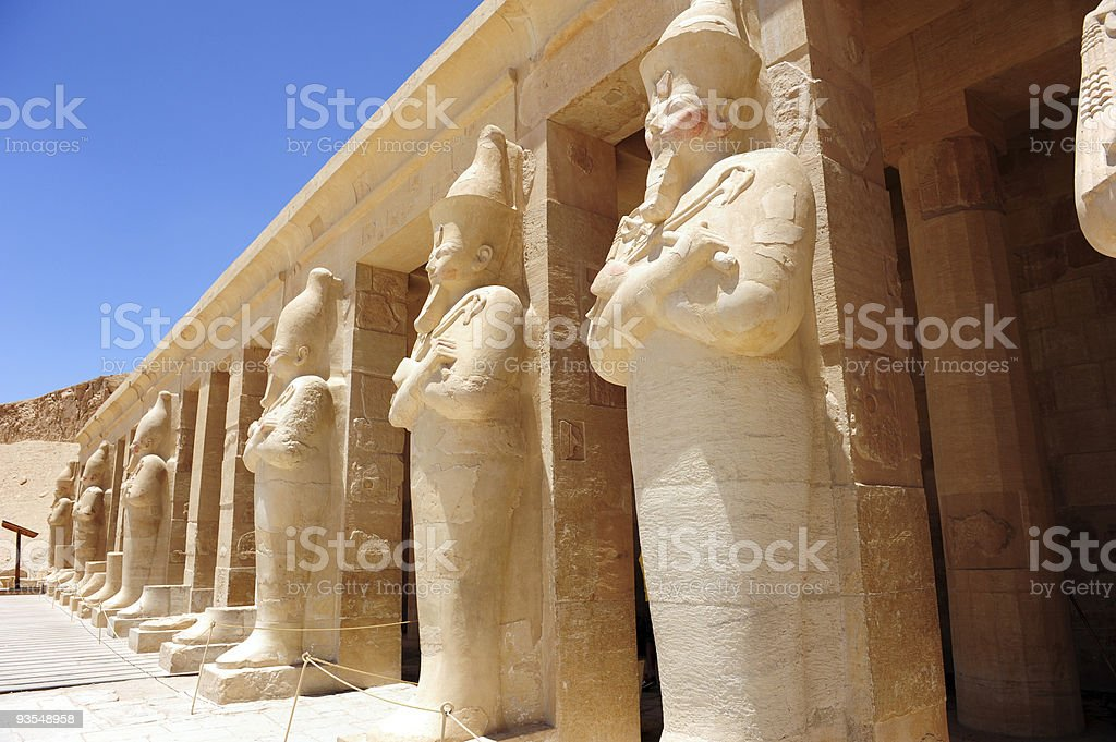 Temple of Hatshepsut stock photo