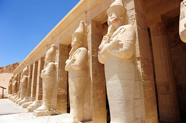 Temple of Hatshepsut  valley of the kings stock pictures, royalty-free photos & images