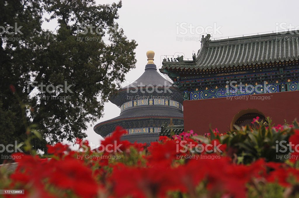 Temple of Heaven 3 royalty-free stock photo