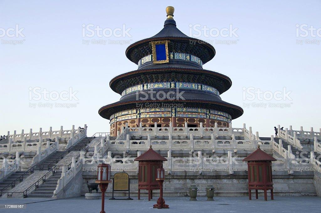 Temple of Heaven, Beijing royalty-free stock photo