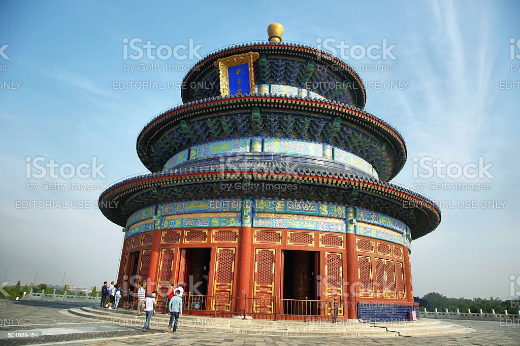 Temple of Heaven, Beinig, China stock photo