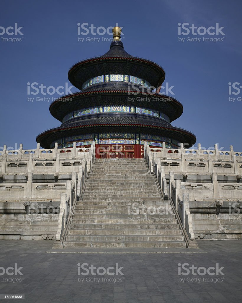 Temple of heaven in Beijing, China royalty-free stock photo