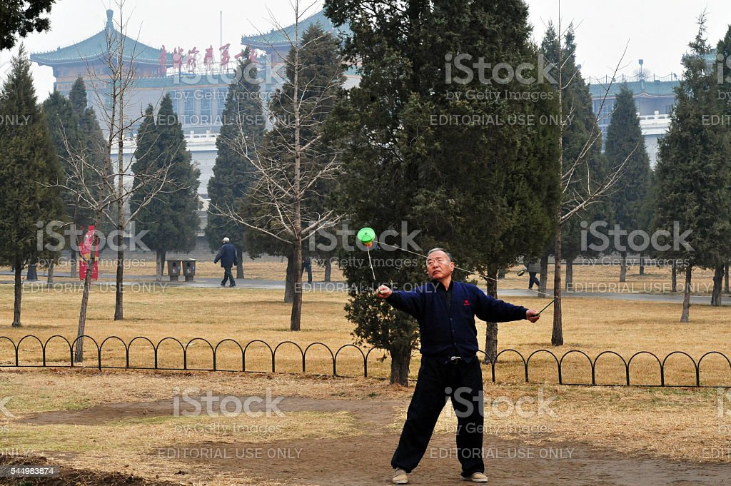 Temple of Heaven in Beijing China stock photo