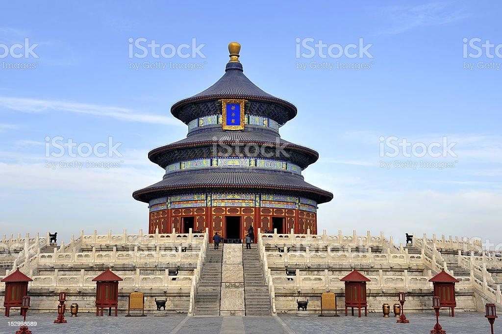 Temple of Heaven in Beijing, stock photo