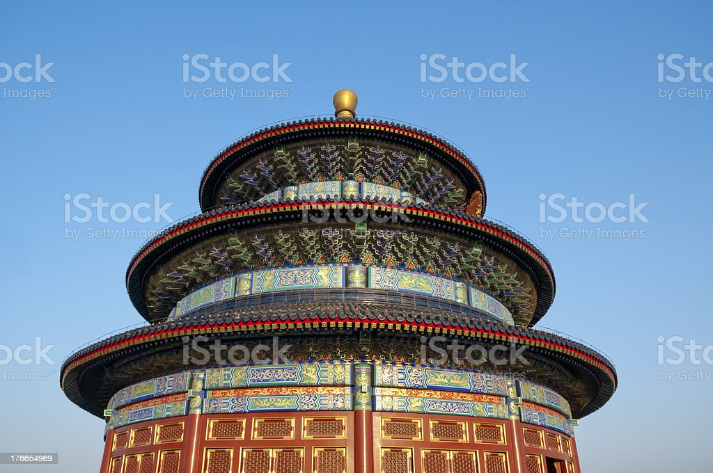Temple of Heaven royalty-free stock photo