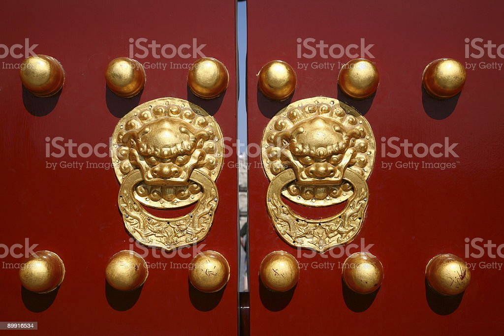 Temple of Heaven's entrance in Beijing, China royalty-free stock photo