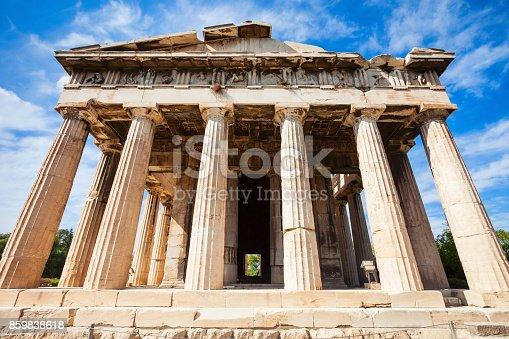 istock Temple of Hephaestus, Athens 859838618