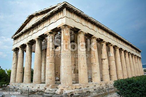 istock Temple of Hephaestus in Ancient Agora 1047404884