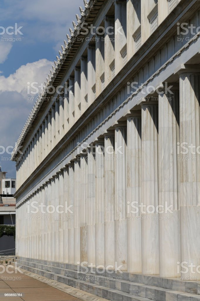 Temple of Hephaestus - Royalty-free Abandoned Stock Photo