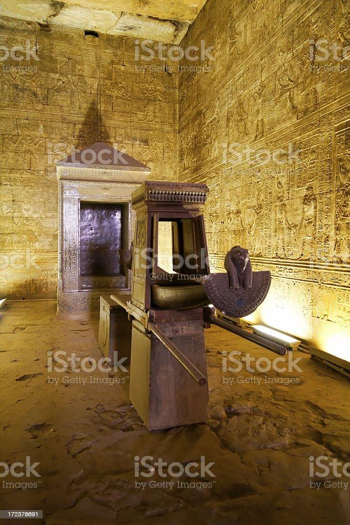 Temple of Horus, Edfu royalty-free stock photo