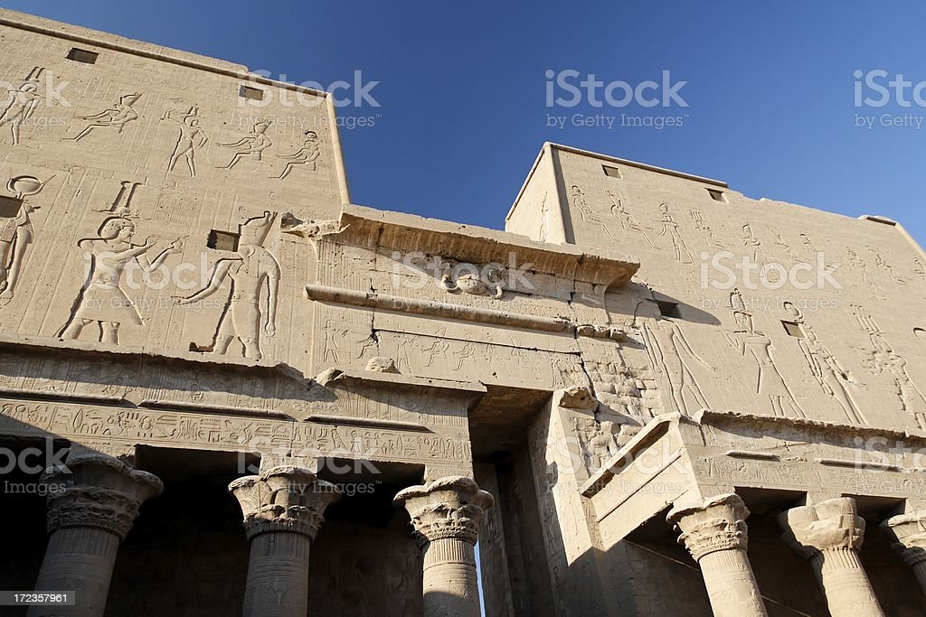 Temple of Horus royalty-free stock photo