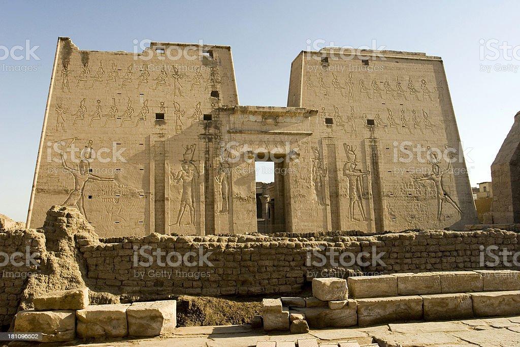Temple of Horus royalty-free stock photo
