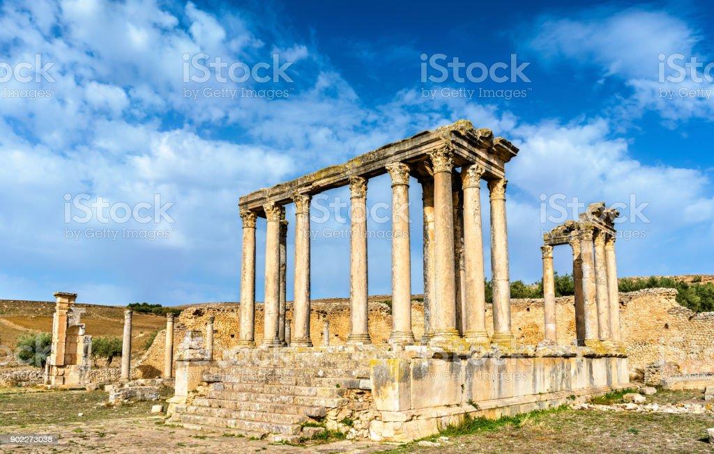Juno Tempel aus der Geschichte
