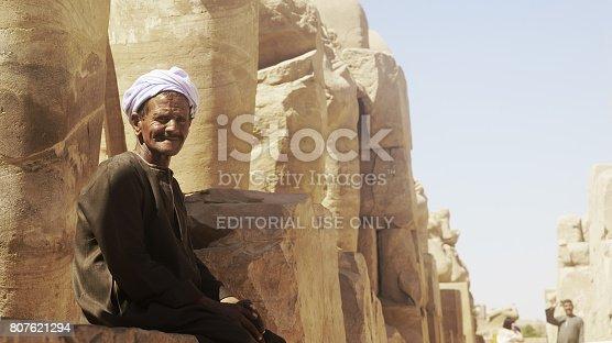 istock Temple of Karnak 807621294